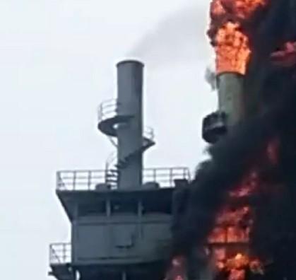 沙河市东耀建材有限公司关于6.14环保设备湿电除尘失火情况报告