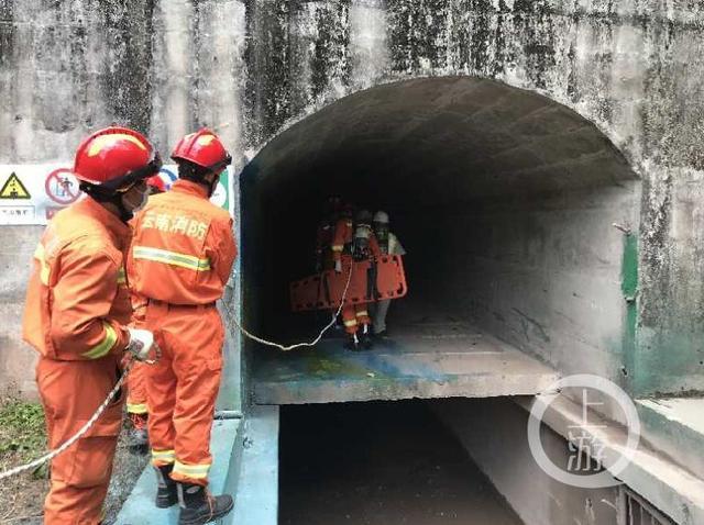 云南普洱水电站通风洞清淤引发爆炸致6死5伤 消防现场搜救出3人