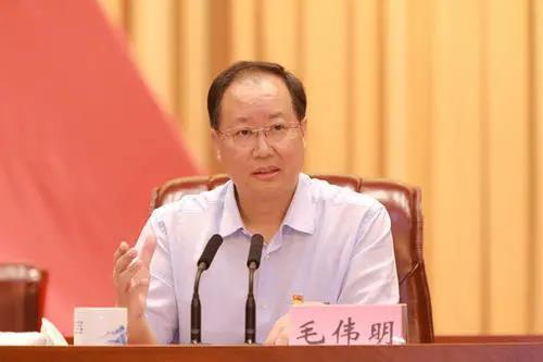 原国家电网董事长毛伟明任湖南省委副书记