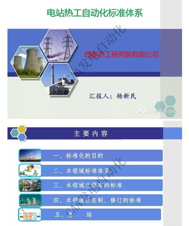 标准解读|电站热工自动化标准体系